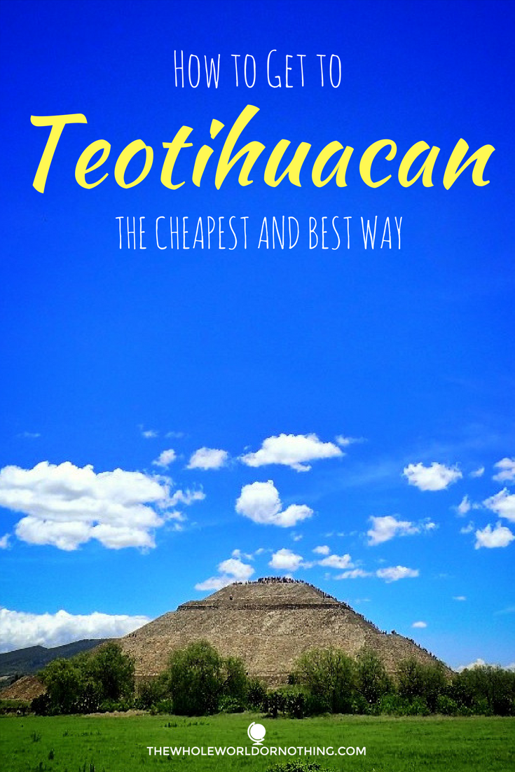 How to get to teotihuacan