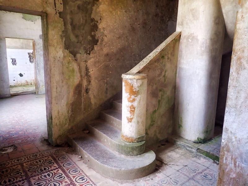 Inside Bokor Palace Hotel