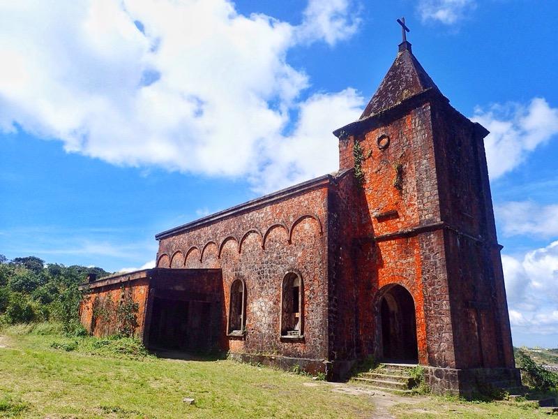 Abandoned Church Bokor Mounatain