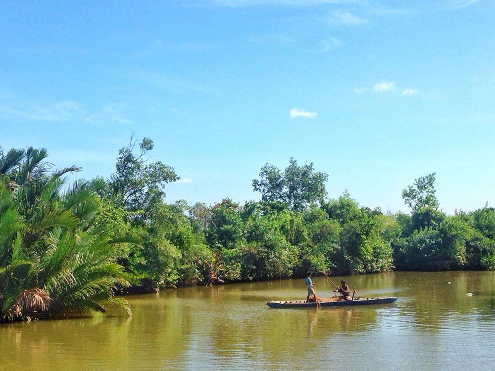 Praek Tuek Chhu River Kampot