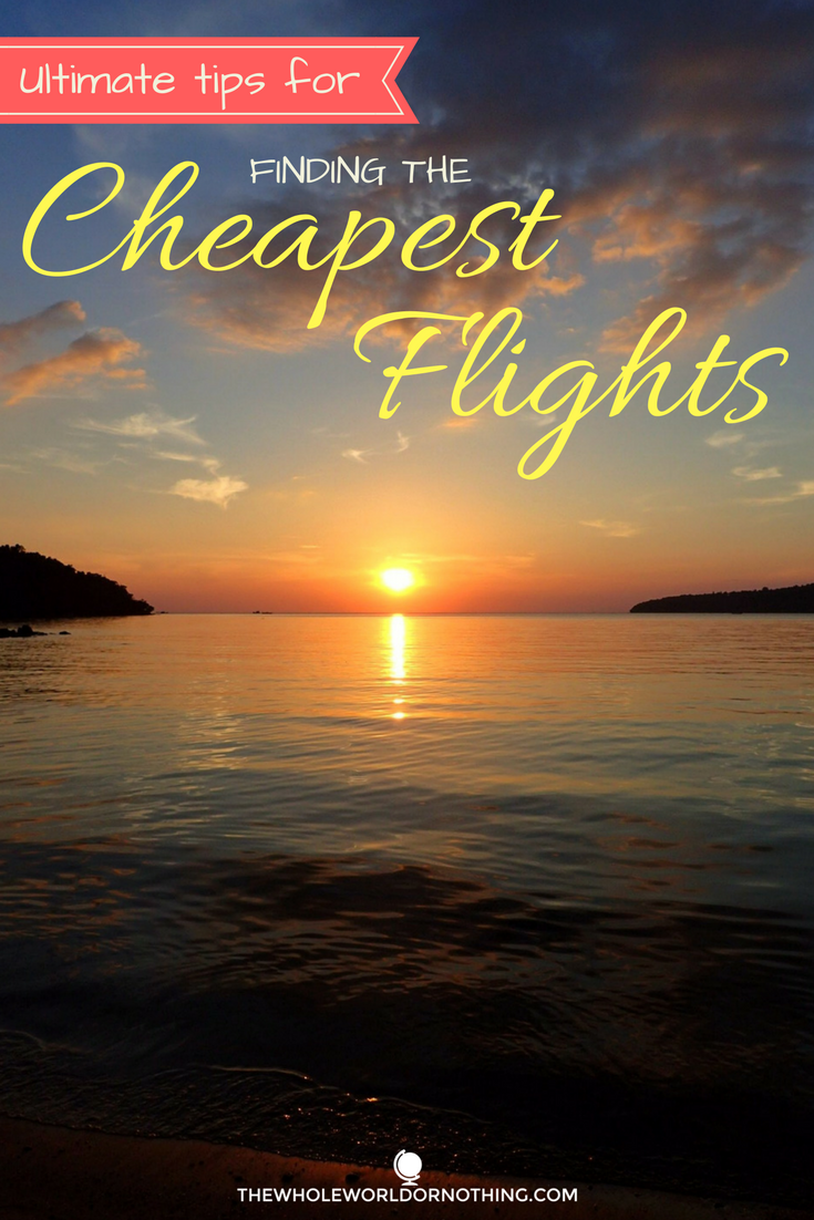 Tips For Booking Cheap Flights