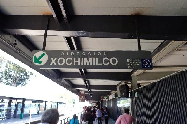 Tasquena Metro Station