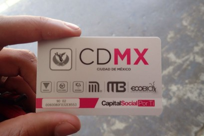 Mexico City Travel Card