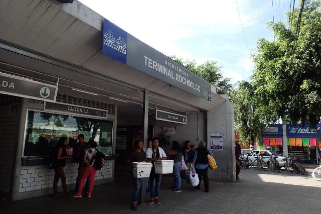 Xochimilco Tren Ligero Station