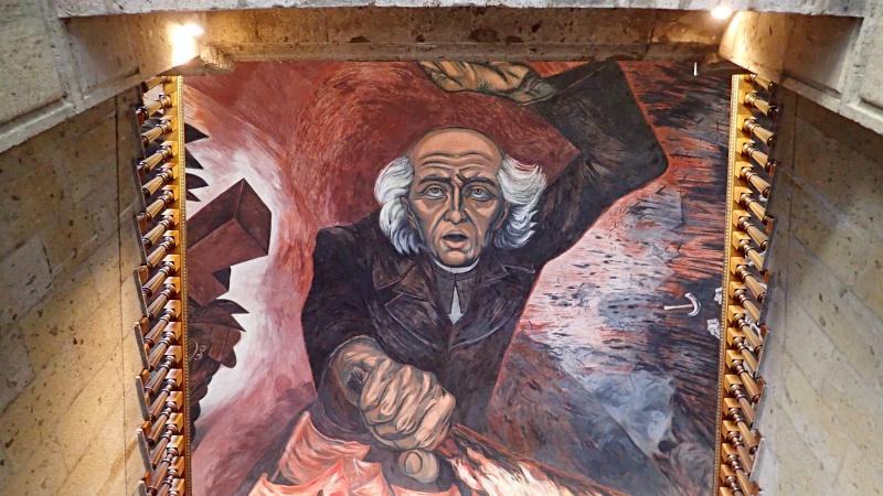 Miguel Hidalgo Mural