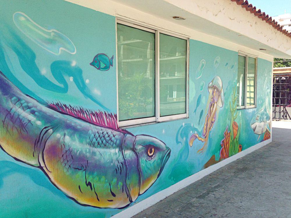Parque Lazaro Cardenas Graffiti
