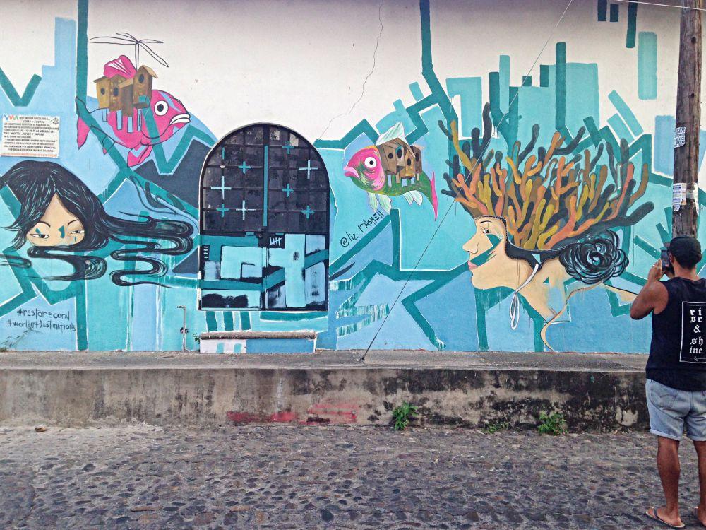 Comex Graffiti Puerto Vallarta