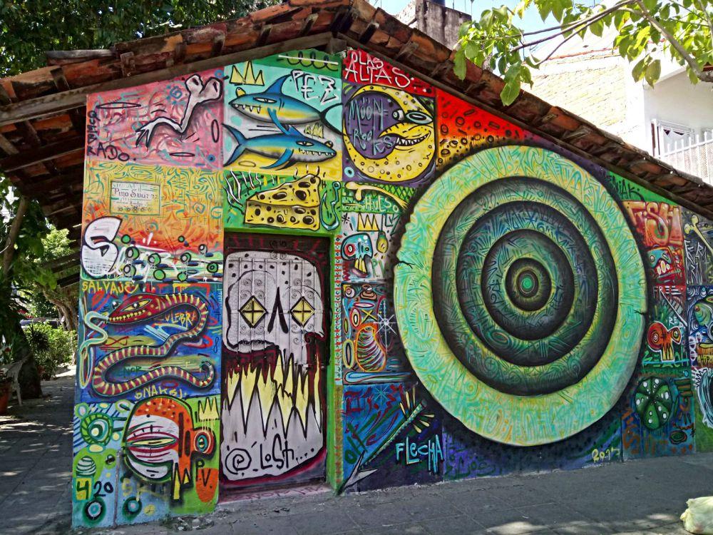 Pino Suarez street art Puerto Vallarta
