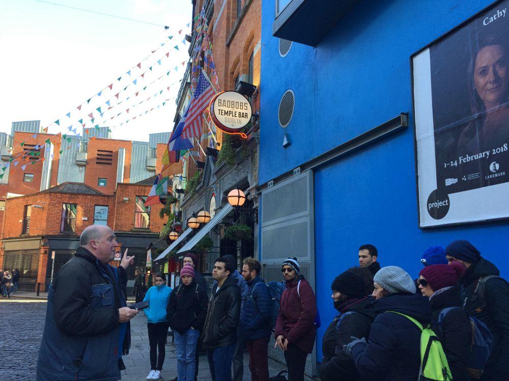 Sandemans Walking Tour Dublin