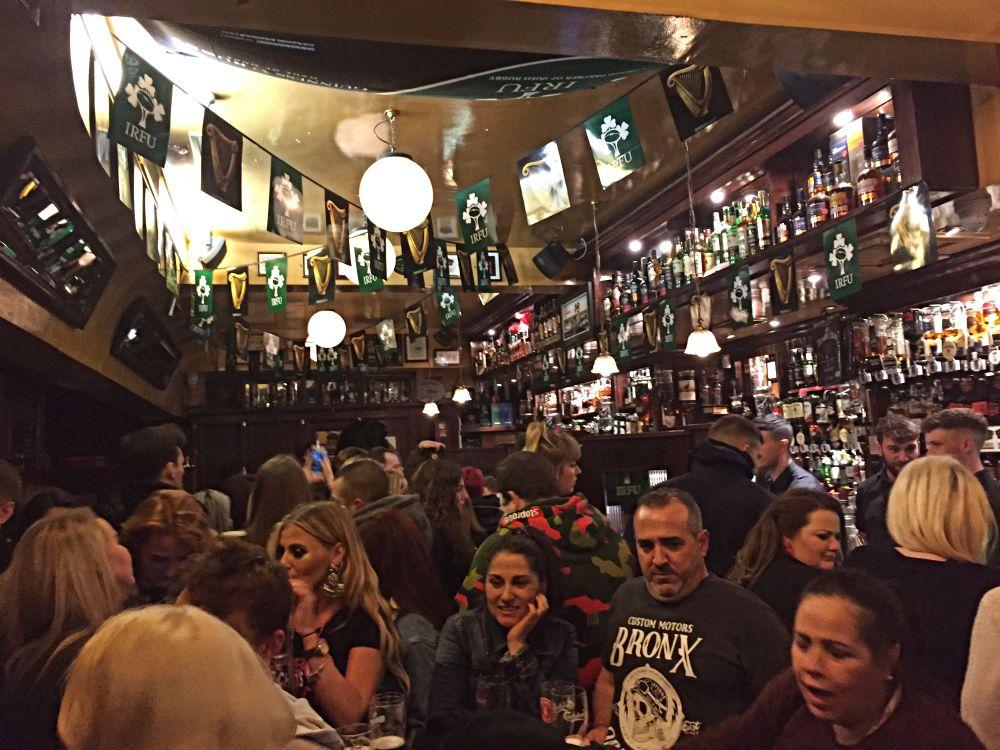 Inside Temple Bar Dublin