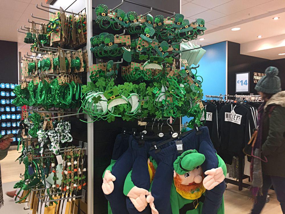 Irish hats Penneys O'Connell Street