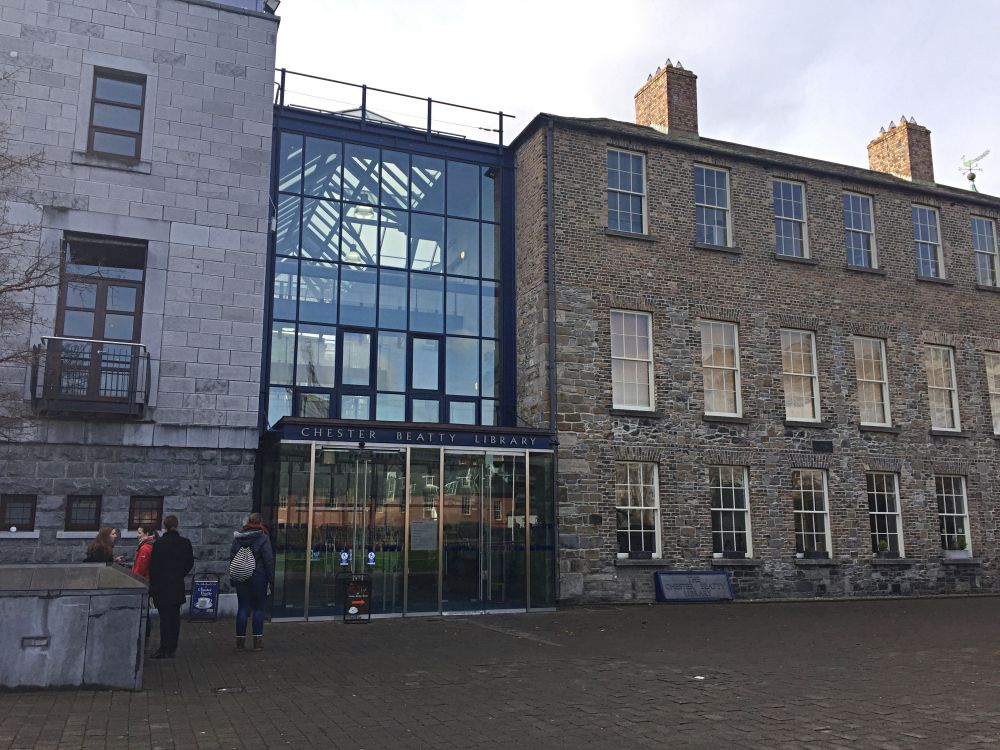 Free Museum Dublin Chester Beatty Library
