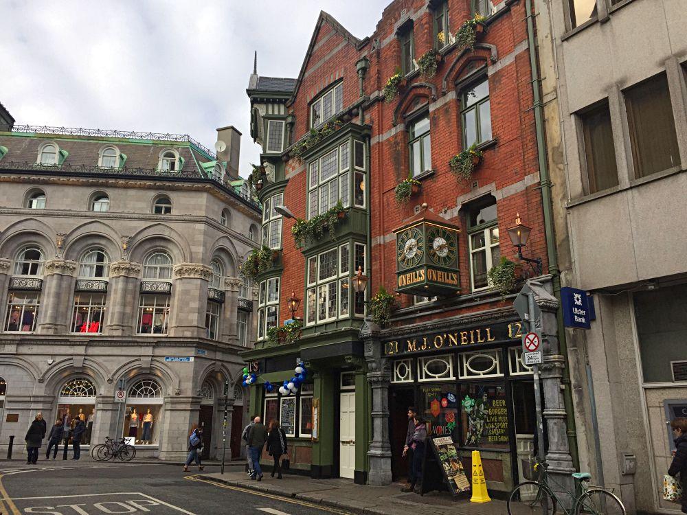 Cheap Pubs In Dublin O'Neills