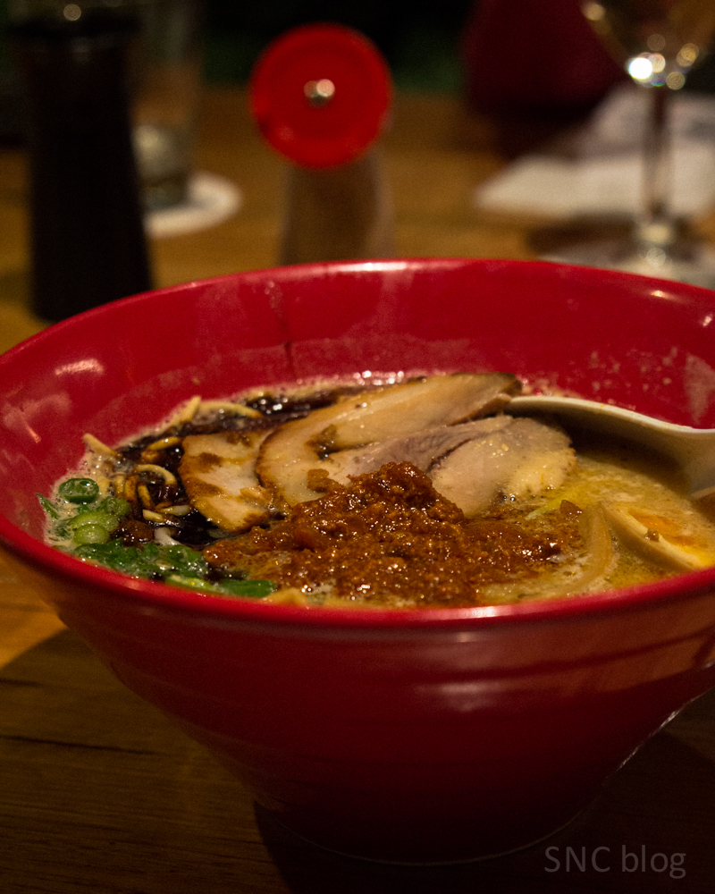 Ippudo spicy miso tonkotsu ramen