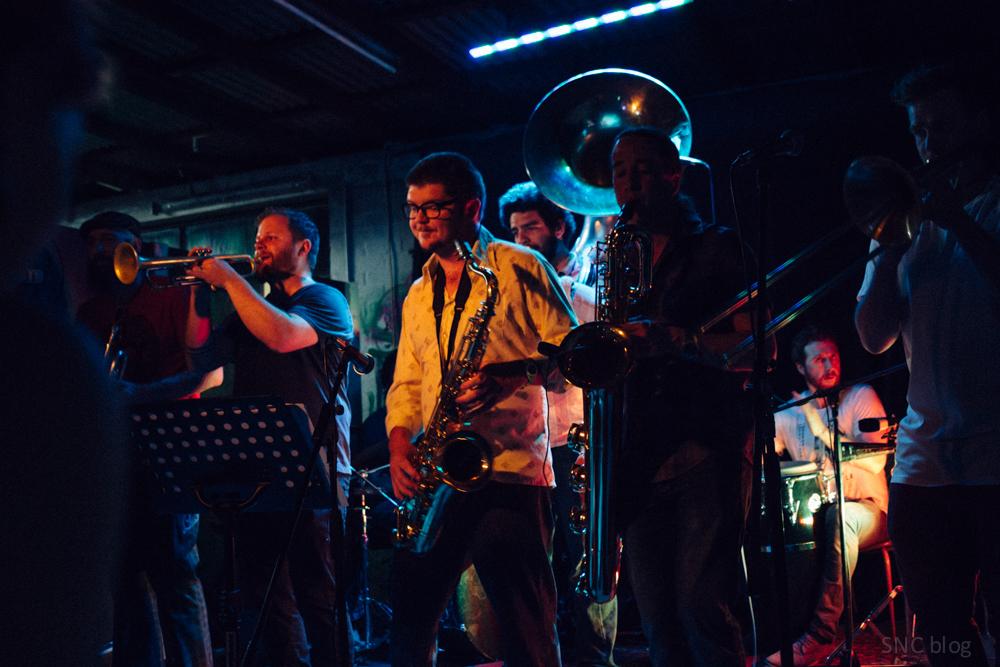 Brass Knuckle Brass Band, Chop Shop Canberra
