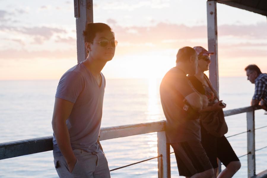 Henley Beach, adelaide sunset