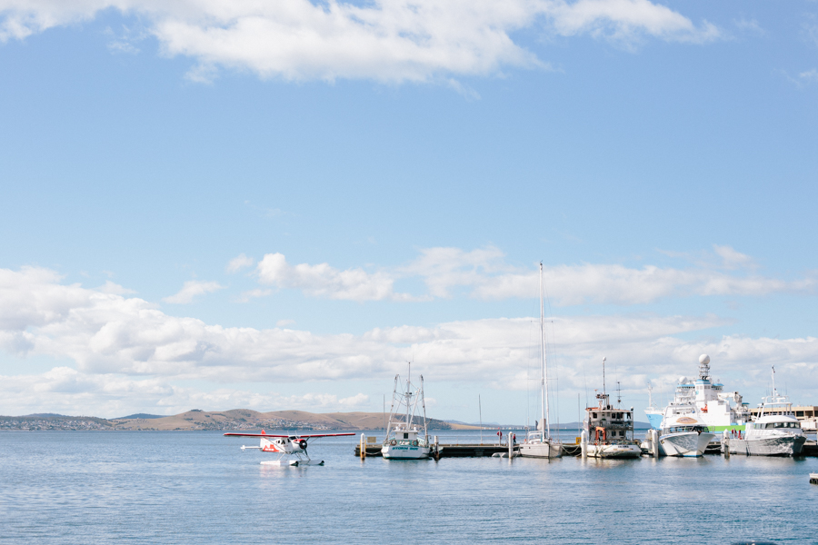 Hobart waterfront photograph
