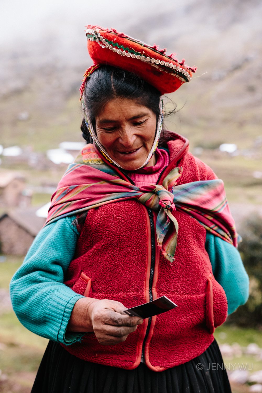 Lares Trek: Andes Polaroid Project