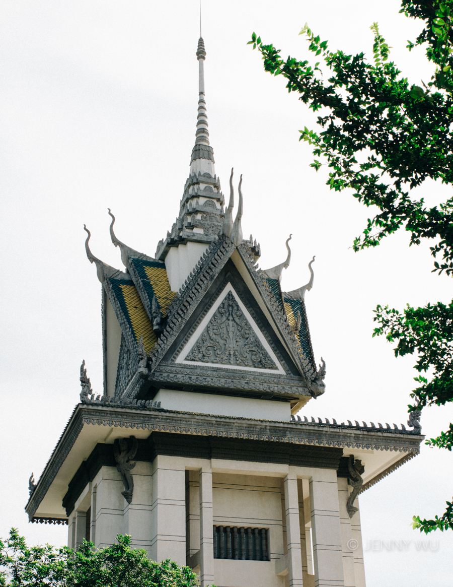 cambodia killing fields Mausoleum