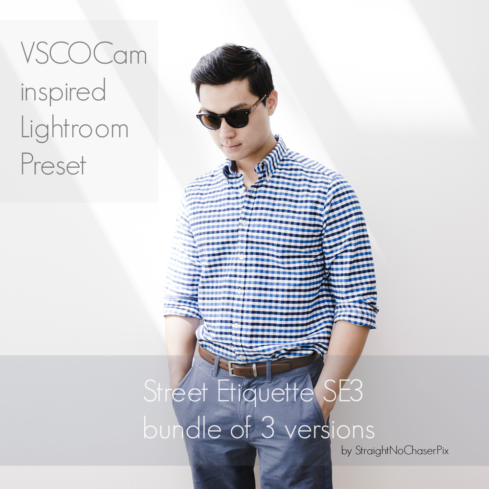 VSCO Cam SE3 Lightroom emulation preset