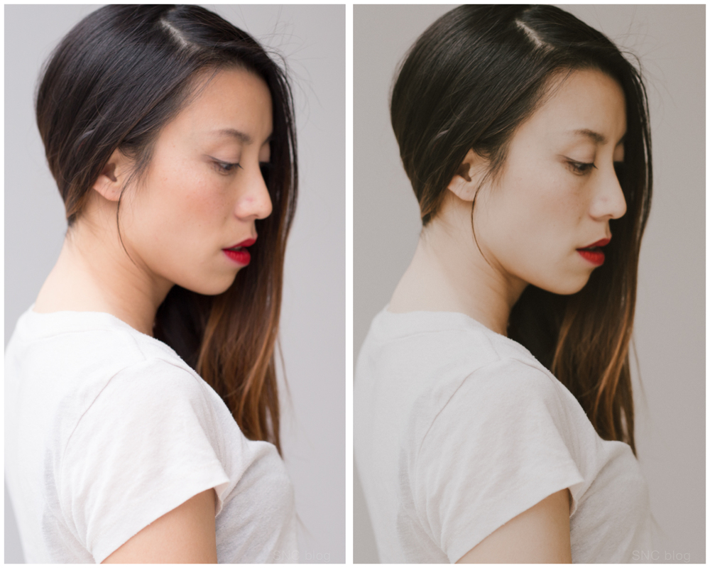 Lightroom M5 preset before and after