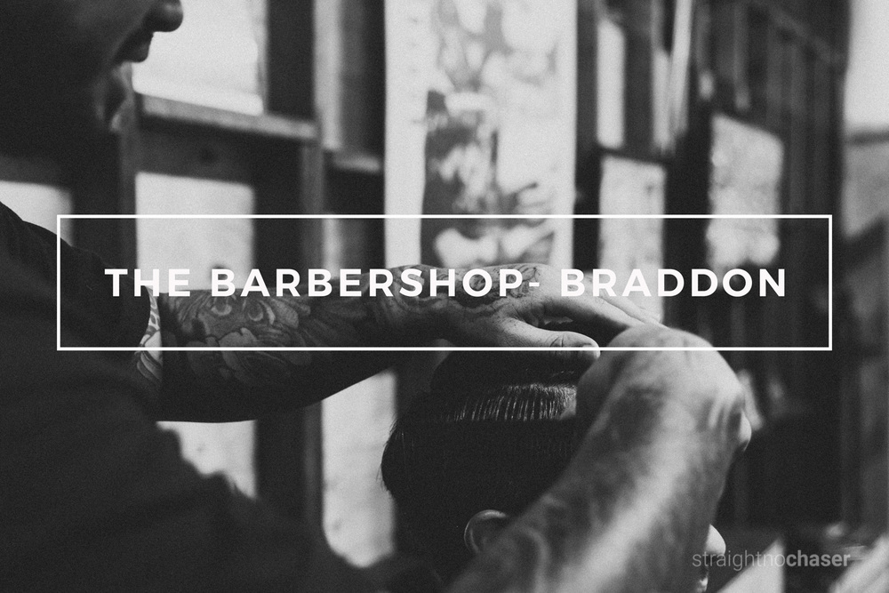 The Barbershop Braddon - Canberra Commercial Photographer