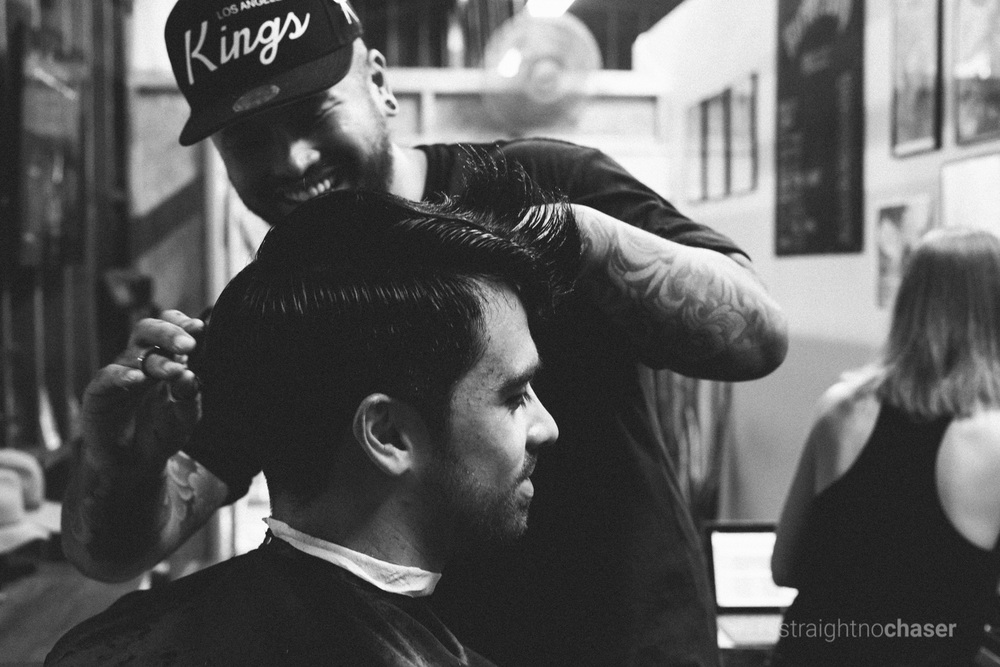 Barbershop Braddon Straight No Chaser Canberra Photographer