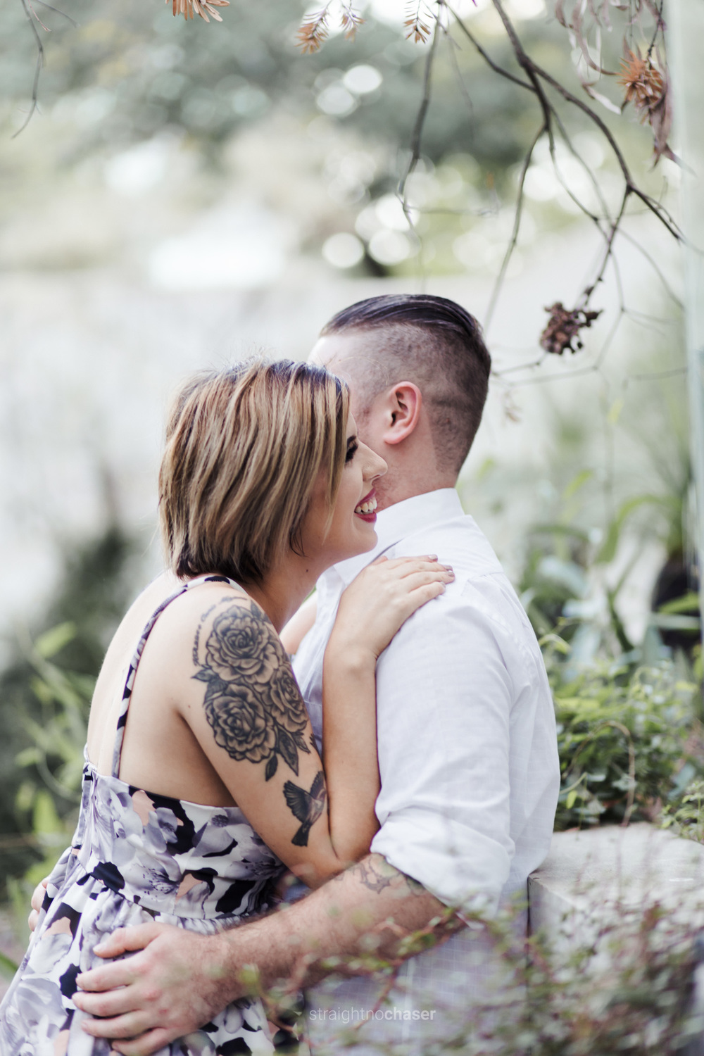 National Sculpture Garden Canberra Engagement Shoot