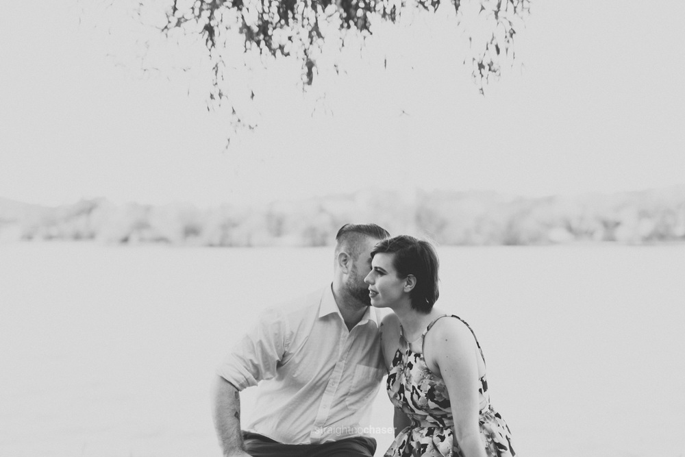 Lake Burley Griffin Canberra Engagement Shoot