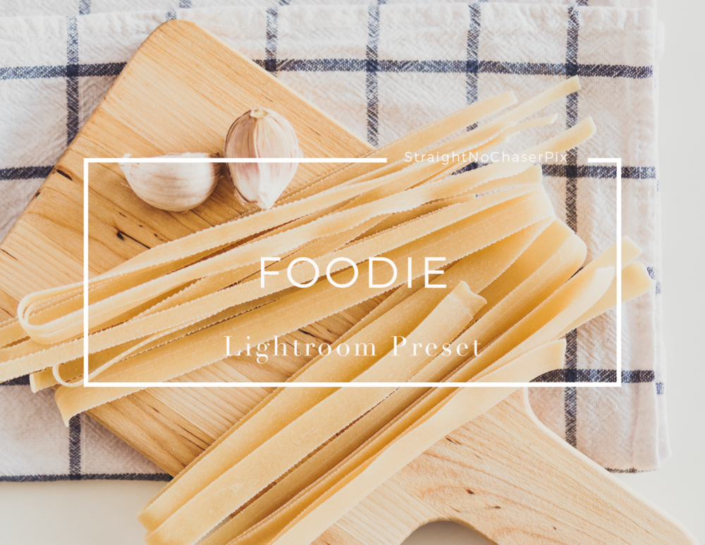 Introducing Foodie- a delicious Lightroom Preset for Food Photography