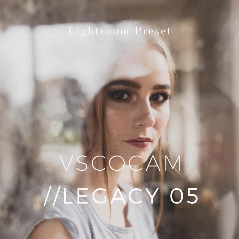 VSCO Cam Legacy 05 inspired Lightroom Preset