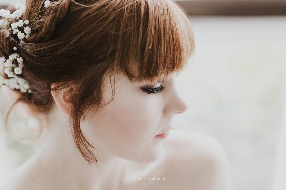 Sam & Aaron Canberra wedding bridal portrait - Straight No Chaser Photography