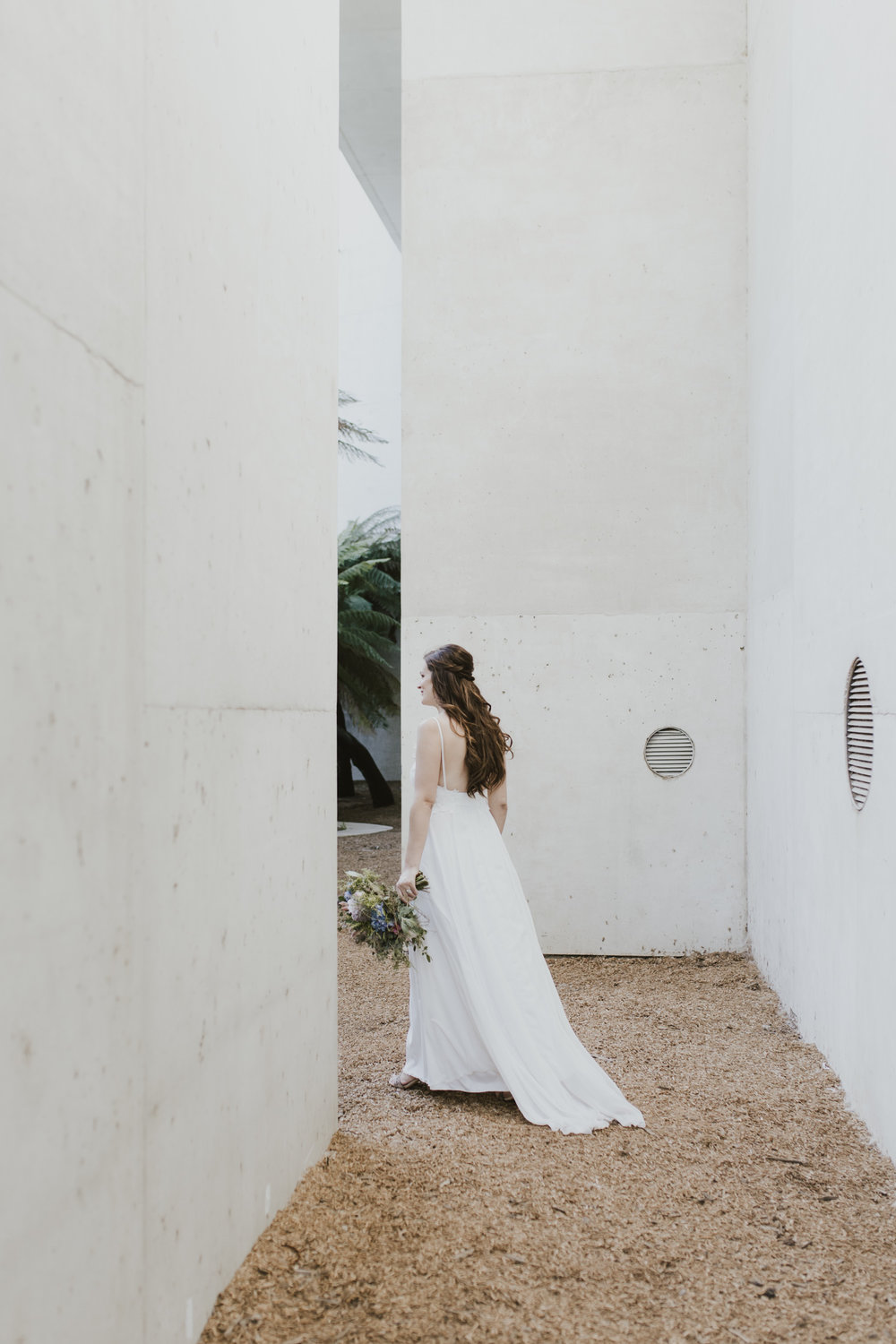 Leah & Rael: National Gallery of Australia Portraits Wedding Canberra