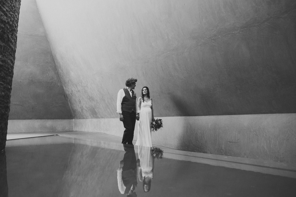 James Turrell Skyspace Wedding portraits Canberra
