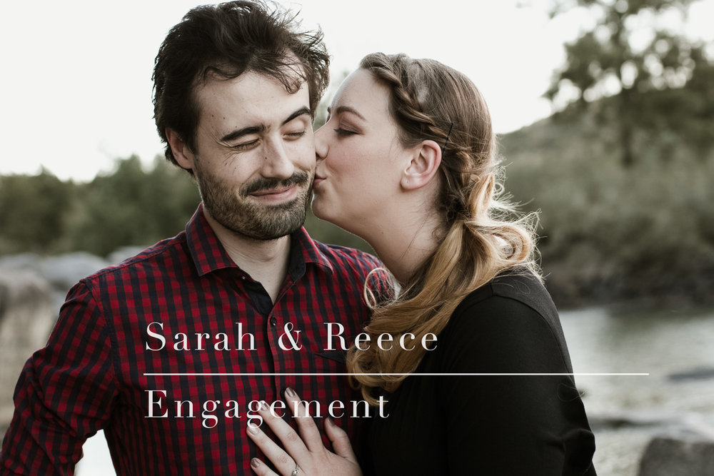 Canberra Sunset Farm Engagement Portrait Session