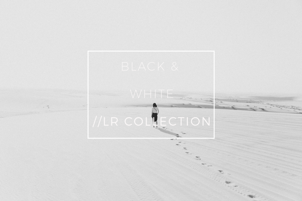 Black and White Preset Bundle