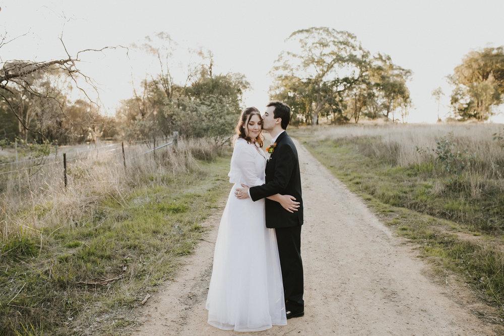 Reece and Sarah Wedding Autumn Canberra Wedding