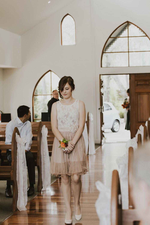 Reece and Sarah Gold Creek Wedding Ceremony