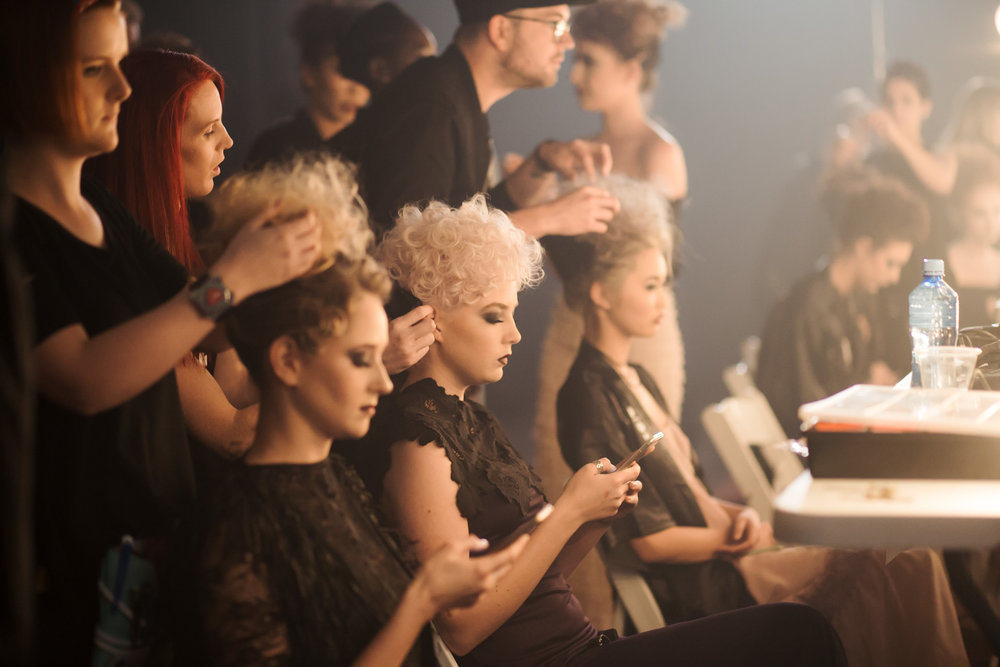 Fashfest Backstage and Runway Canberra shot by Jenny Wu