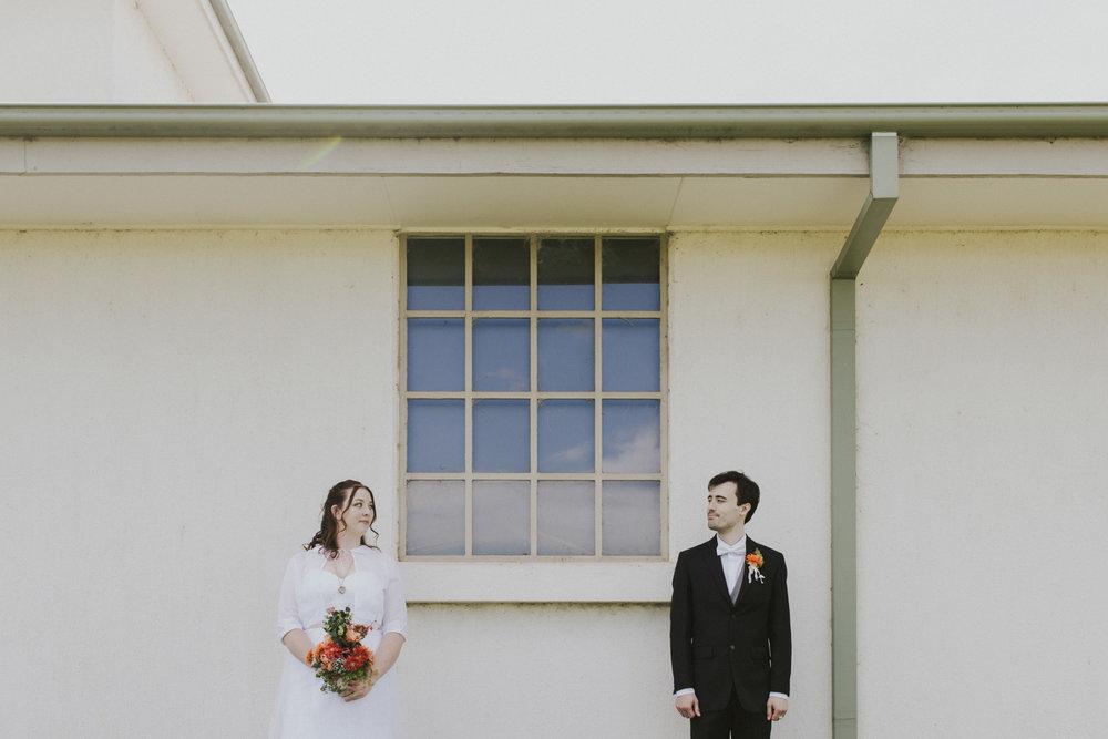 Reece and Sarah Autumn Wedding in Gold Creek