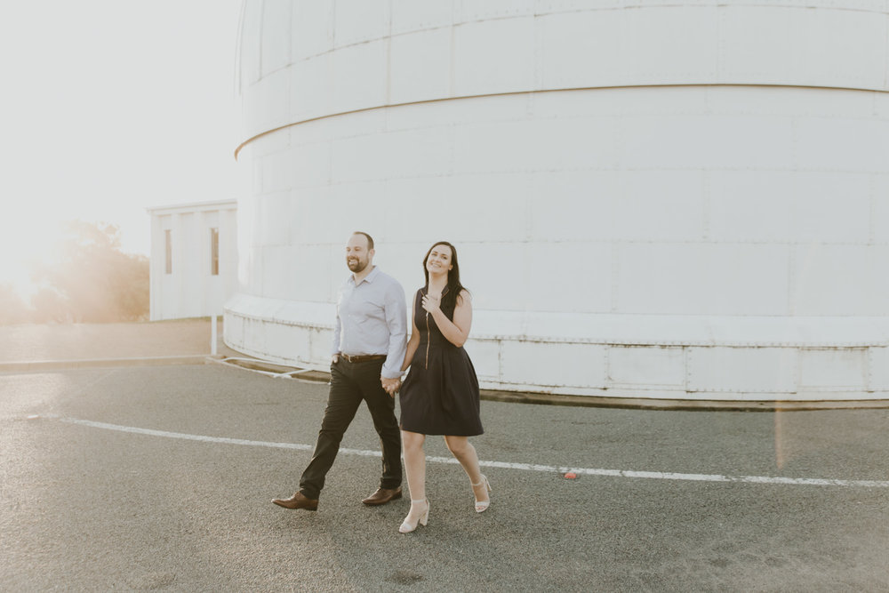 Sarah and Kaya: Stromlo Observatory Engagement