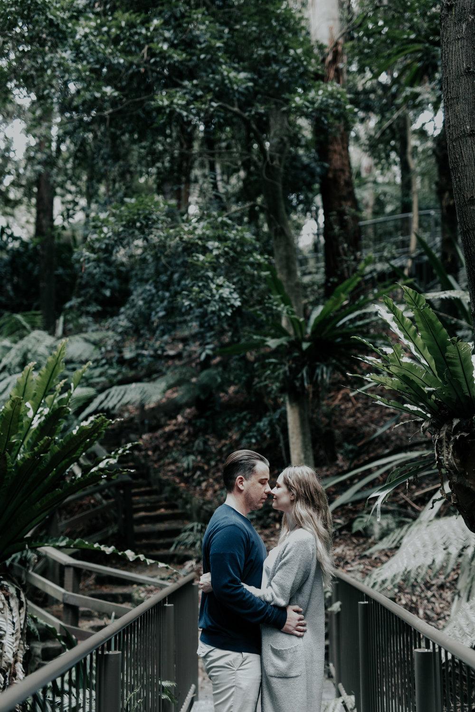 Ash & Josh: Canberra Botanical Gardens Engagement Session