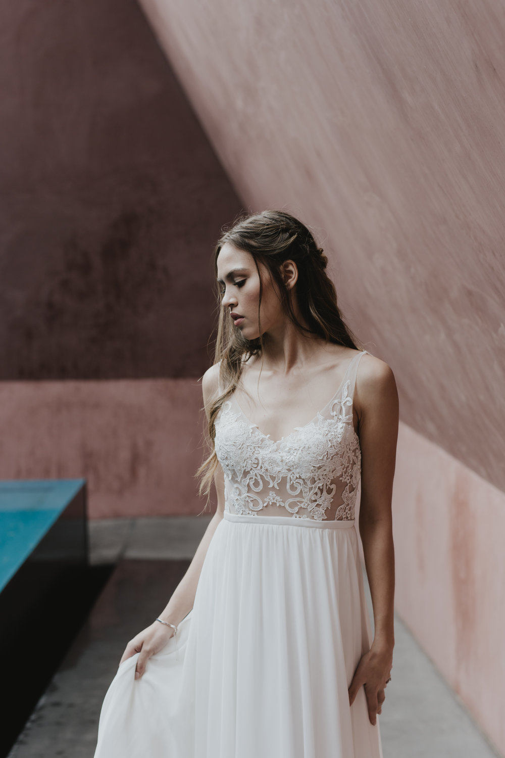 National Gallery of Australia Wedding Portraits Editorial