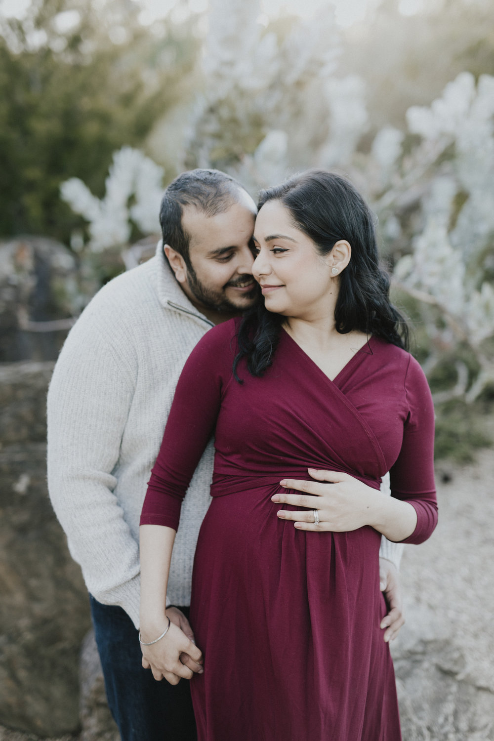 Canberra Botanical Gardens Maternity Session Straight No Chaser Photography