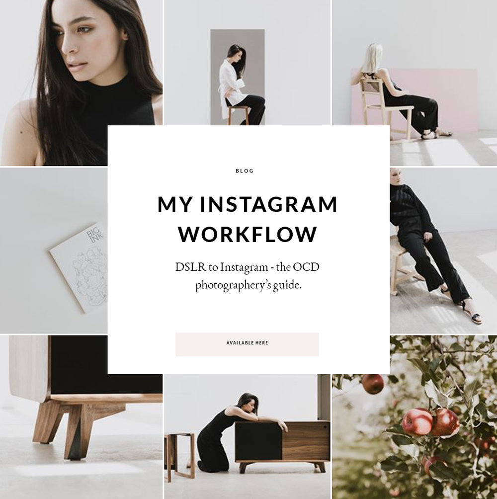 My DSLR to Instagram Workflow- the OCD photographer's guide