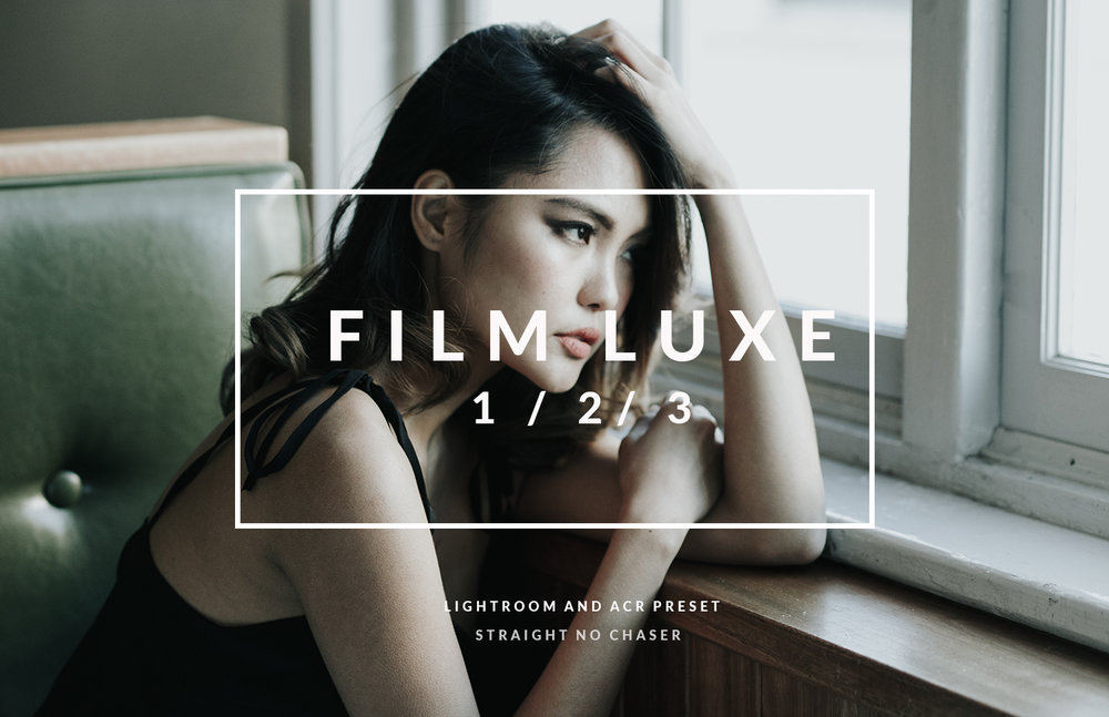 Film Luxe- Lightroom Preset for Fashion, lifestyle, and portraits