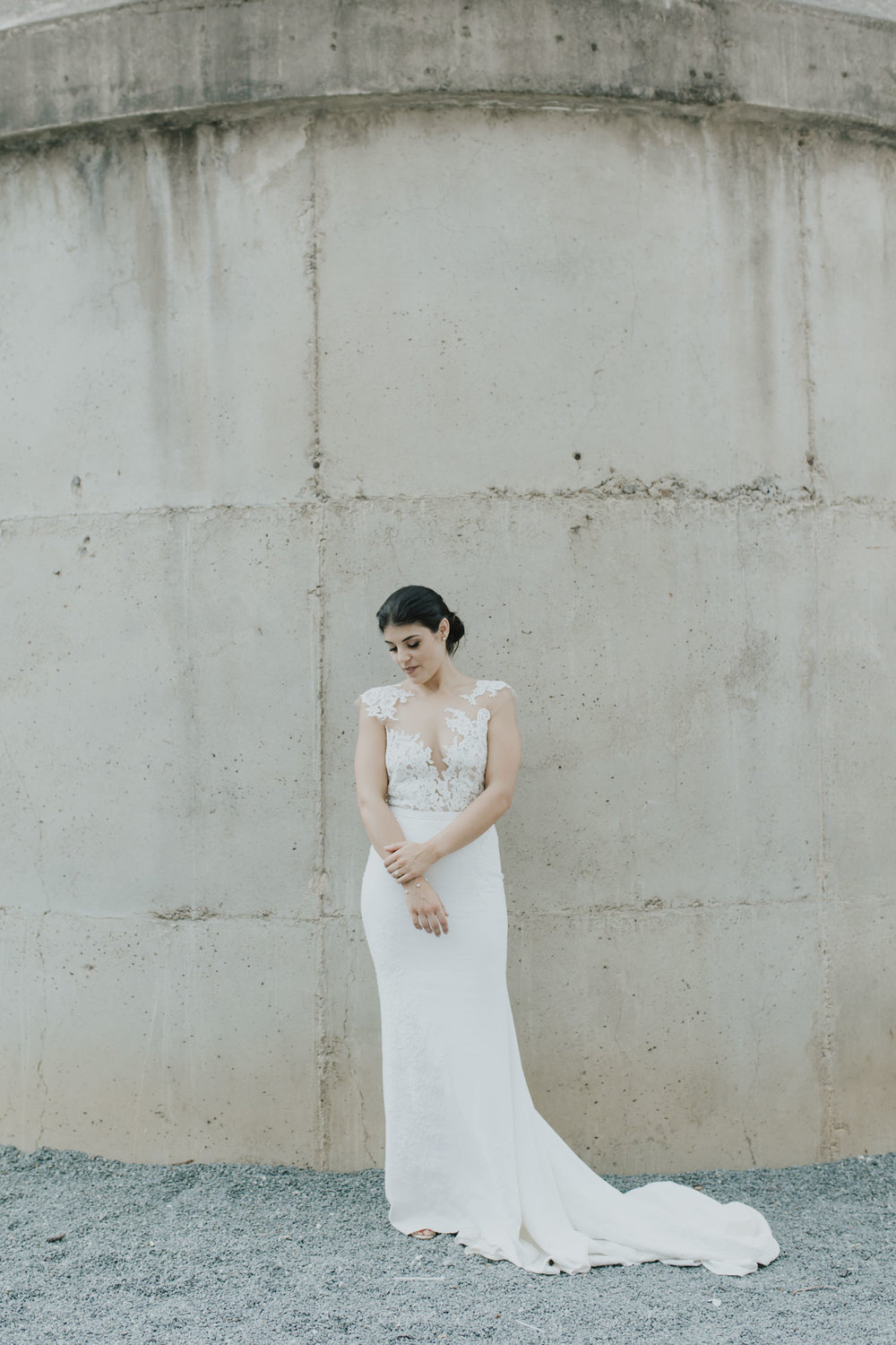 Fitters' Workshop Wedding Canberra - bride and groom  Portraits by Jenny Wu Straight No Chaser Photography