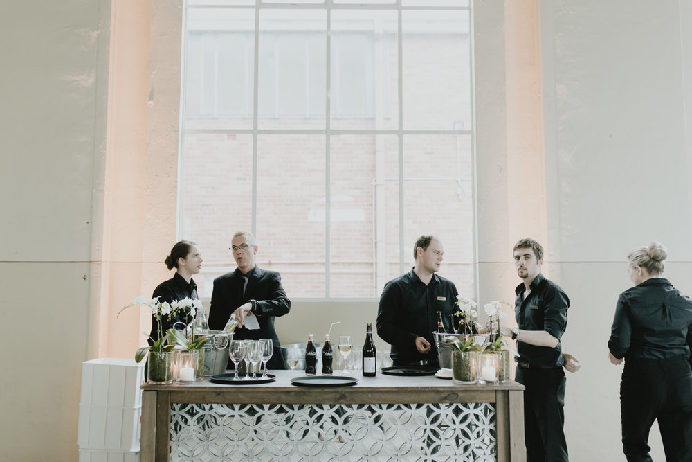Fitters' Workshop Wedding Reception - Showpony event styling- Photography by Jenny Wu Straight No Chaser