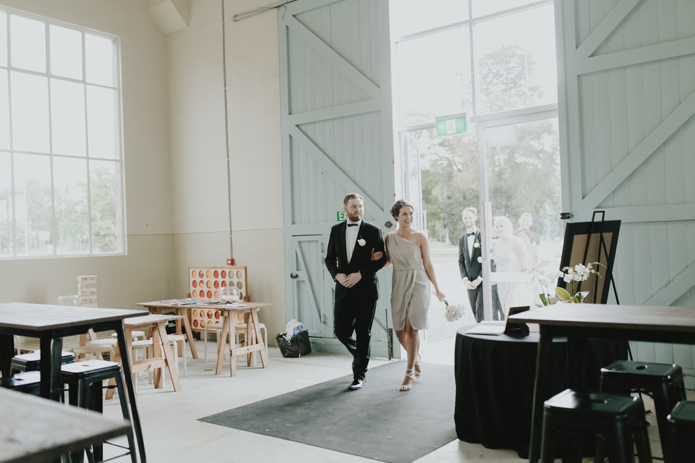 Fitters' Workshop Wedding Reception Kingston / Canberra - bride and groom  Portraits by Jenny Wu Straight No Chaser Photography