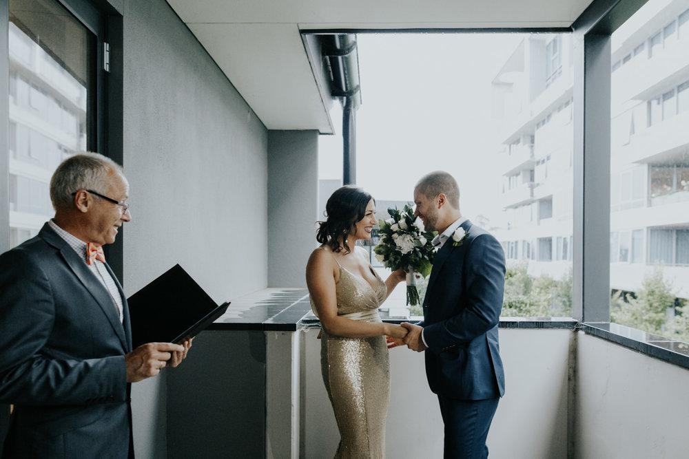 Oumaya and Jonathan's Intimate Canberra Wedding / Burbury Hotel and Boathouse